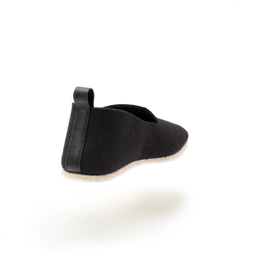 charentaise moderne, design, contemporaine tcha minimal black - fabrication francaise