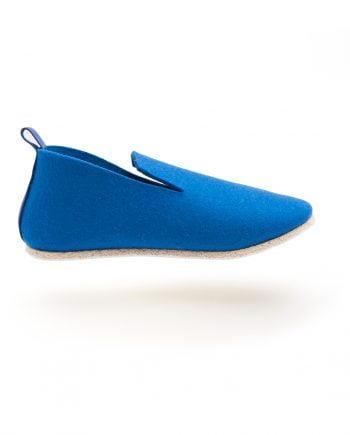 Charentaise design bleu moderne, originale tcha minimal nestadio - homme, femme, enfant