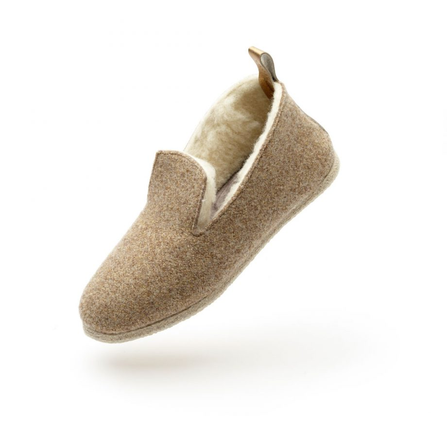 charentaise moderne, design, contemporaine tcha wooly gold
