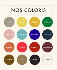 PARISIENNE Coloris Nappa RANGE copie