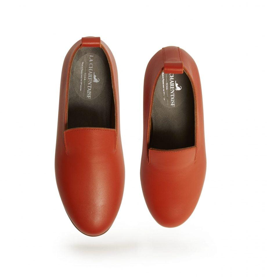 parisienne cuir-sanguine-paire